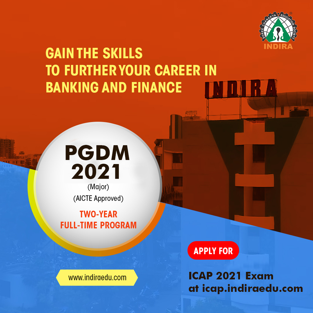 Indira Common Admission Process (ICAP) - Admissions 2021