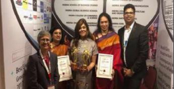 Indira National School - Outstanding School Award 2020-2021