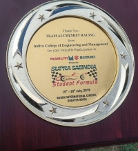 ICEM WON 1ST PRIZE IN CAE (COMPUTER AIDED ENGINEERING) AWARD OUT OF 119 TEAMS ACROSS THE COUNTRY IN SAE SUPRA 2019 (JULY)