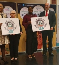 INDIRA GROUP - SILVER JUBILEE LOGO WAS RELEASED IN SOUTH AFRICA AT THE BEST EMPLOYER BRAND AWARDS 2019.